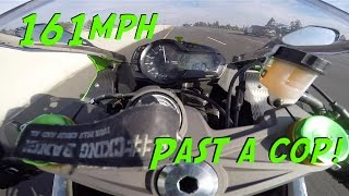 Download Flying past a cop at 161MPH[MotoVlog-ish] Video