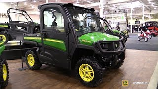 Download 2018 John Deere Gator XUV 835 M Utility ATV - Walkaround - 2017 Toronto ATV Show Video