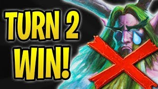Download How to WIN on TURN 2! | Anti-Combo Warlock vs Druids | The Boomsday Project | Hearthstone Video