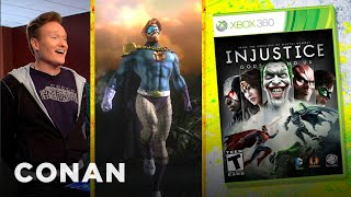 Download Conan O'Brien Reviews ″Injustice: Gods Among Us″ - Clueless Gamer - Conan on TBS Video