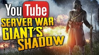 Download Battlefield 1: Battle of Giant's Shadow | SUBSCRIBER SERVER WAR LIVE STREAM Video