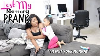 Download LOST MY MEMORY PRANK On 3 Year Old ″I'm Not Your Momma″ Video