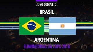 Download Jogo Completo - Brasil x Argentina - Eliminatórias da Copa 2018 - 10/11/2016 Video
