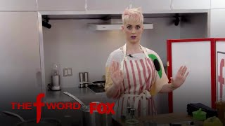 Download Gordon Ramsay Guides Katy Perry In Cooking But Only With His Voice | Season 1 Ep. 3 | THE F WORD Video