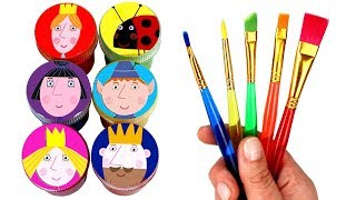 Download Ben and Holly Drawing & Painting Princess Holly King Thistle Ben Elf Nanny Plum Gaston Surprise Toys Video