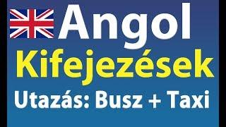 Download Angol Kifejezések: Utazás Busszal + Taxival Video