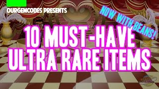 Download MSP | 10 MUST HAVE ULTRA RARE ITEMS Video