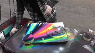 Download New York City Spray Paint Artist Video