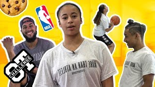Download Jaden Newman's Going To Be The FIRST FEMALE In The NBA! Blasts Bro Julian In The Overtime Challenge! Video