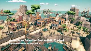 DCG Low poly Water Shader v1 4 - Unity3D - Asset Free Download Video