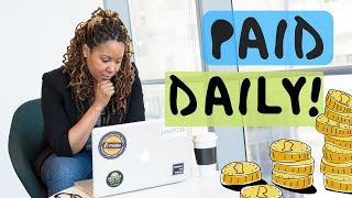 Download Jobs That Pay Daily | 2019 (From Home!) Video