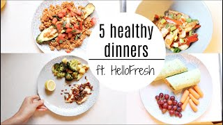 Download A Week Of Healthy Dinners Ft. HelloFresh Video