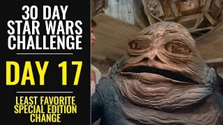 Download 30 Day Star Wars Challenge - DAY 17 - Least Favorite Special Edition Change Video