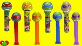 Download Teenage Mutant Ninja Turtles Lolli Pop Ups and Pez Candy Dispensers Video