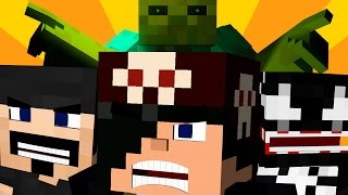 Download A GUERRA DE SORTE! - Lucky Block Sky Wars: Minecraft Video