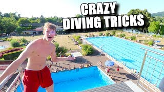 Download INSANE DIVING BOARD TRICKS FROM 10 METERS! Video
