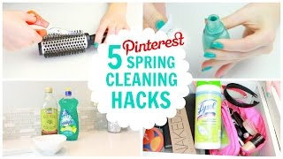 Download 5 Pinterest Spring Cleaning Hacks (Beauty & Fashion) Video