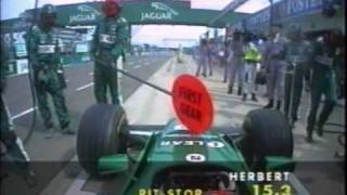 Download F1 British GP 2000 Team Jaguar Pit Stop Disasters Video