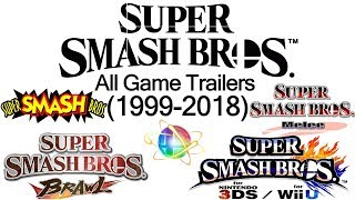 Download All Super Smash Bros Game Trailers (1999-2018) Video