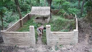 Download Primitive Technology, Cover grass in small village Video