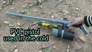 Download pvc pistol / how to make an alcohol gun hunting from a pvc pipe, use it in the cold [newcd] Video