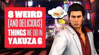 Download 8 Weird (And Delicious) Things We Did in Yakuza 6 - Yakuza 6 PS4 Gameplay Video