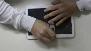 Download Samsung Galaxy Tab 3 10.1 Glas, Touchscreen wechseln, Deutsch Video