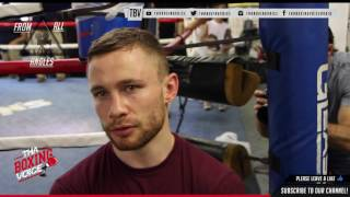 Download Carl Frampton @126 I'm A Different Animal Cruz Will See....I'm A Side vs Lee Selby Back Home Video