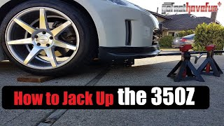 Download How to Jack Up/ Raise the Nissan 350Z when working on it from Home Video