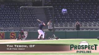 Download Tim Tebow Prospect Video, OF, Free Agent Video