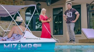 Download The Miz questions why Marjo has a paddleboat in the pool: Miz & Mrs. Preview Clip, April 23, 2019 Video