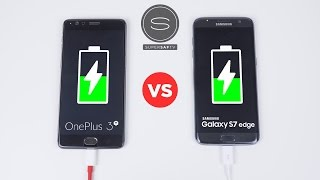 Download OnePlus 3T vs Galaxy S7 Edge - Battery Charging Speed Test Video