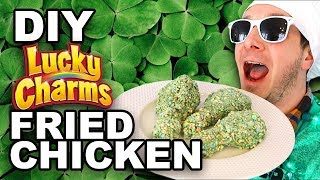 Download DIY Lucky Charms Fried Chicken - Man Vs Din Video