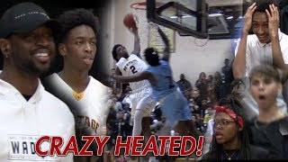 Download Zaire Wade SHUTS UP ″OVERRATED″ Chants in HEATED GAME! Dwyane Wade HYPED! Video
