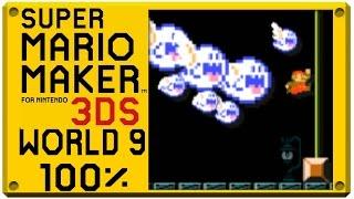 Super Mario Maker for Nintendo 3DS - World 8 | Super Mario Challenge