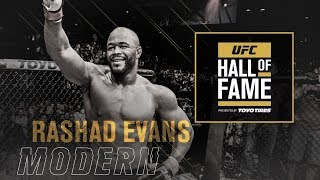 Download Rashad Evans Joins the UFC Hall of Fame Video