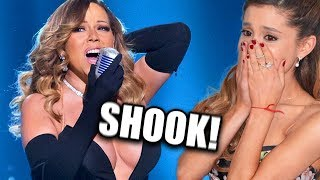Download Famous People REACTING To Mariah Carey's VOCALS! Video
