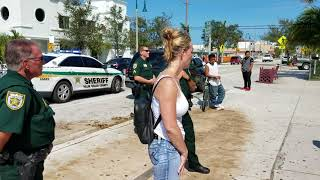 Download Palm beach Sheriff office intimidating a migrant worker Video
