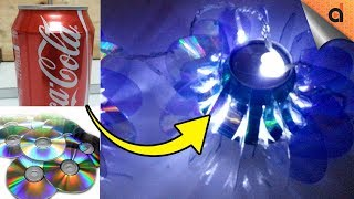 Download No Budget for Christmas Decor? Try this DIY Christmas Decor Using Old CD's & Soda Can. Video
