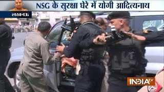 Download CM Yogi Adityanath to Get Z-plus Security, with NSG guards Video