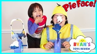 Download Despicable Me Minion Pie Face Challenge! Whipped Cream Family Fun Games for Kids Egg Surprise Toys Video