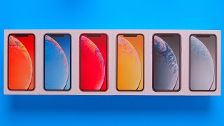Download All iPhone XR Colors Unboxing + Comparison Video