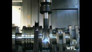 Download WFL M60 MillTurn Complete Crankshaft Machining - MARTECH Machinery, NJ - USA Video