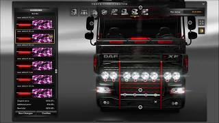 Download DAF XF Tuning Mod ETS2 (Euro Truck Simulator 2) Video