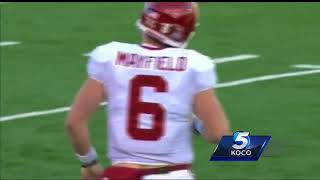 Download Were Mayfield's antics after Kansas captains refused to shake his hand too much? Video