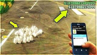 Download HOW TO GET A MONEY DROP FROM ROCKSTAR ON GTA 5 ONLINE! (GTA 5 Money Glitch) Video