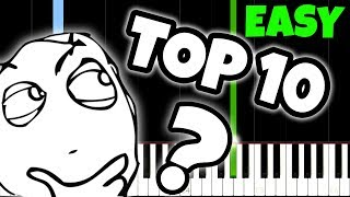 Download Top 10 Songs Everyone Knows but nobody knows the name of... And How To Play Them! Video