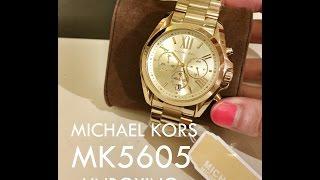 Download Michael Kors mk5605 Watch Unboxing HD Video