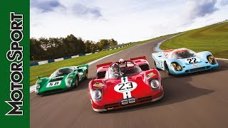 Download Triple test: Porsche 917, Ferrari 512S and Lola T70 Video