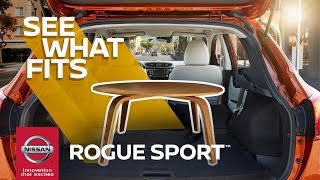 Download 2017 Nissan Rogue Sport Flexible Cargo Lets You Be Spontaneous Video